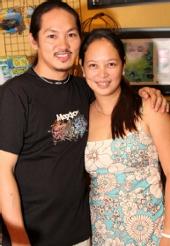 Mae and Al Linsangan